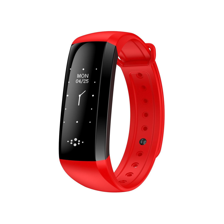 素晴らしい価格 Fitness IOS電話 Watch B0778GVFWV Fitness Trackerスマートブレスレット心拍監視追跡ワイヤレス歩数計カロリーカウンタースポーツバンド睡眠監視Android IOS電話 B0778GVFWV Fitness レッド, ヤハタニシク:ee12adf4 --- svecha37.ru