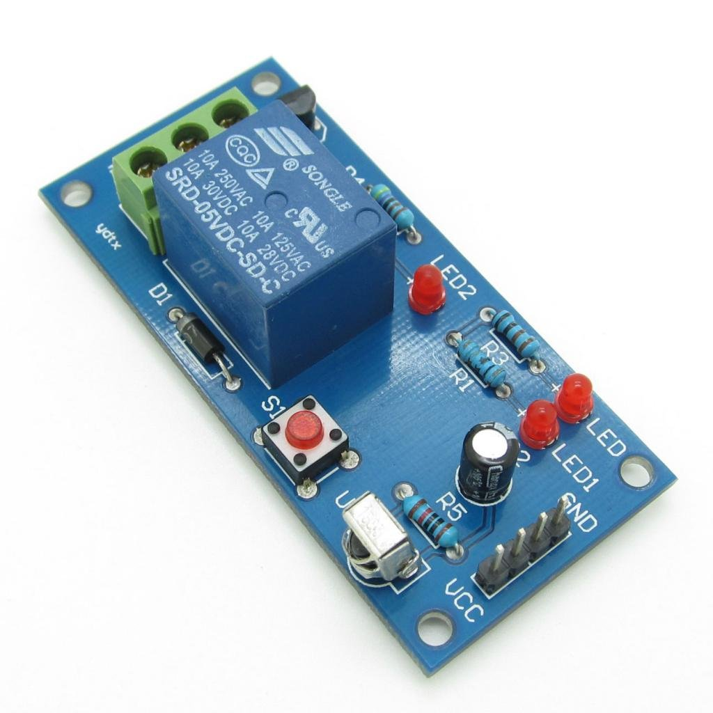 1 Channel Infrared Remote Control Relay Module Ir Switch 5v Amazon Circuit And Applications Industrial Scientific