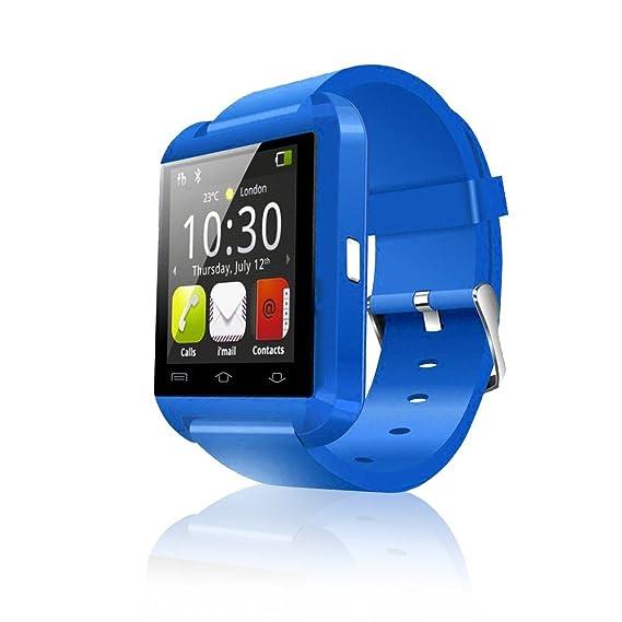 serpeo Reloj Inteligente Bluetooth Pulsera de U8 de Alta Calidad para Smartphone IOS Android iPhone Samsung