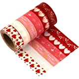 Washi Tape Set di 6Masking Tape nastro di nastri decorativi–Très chic maggio Landa