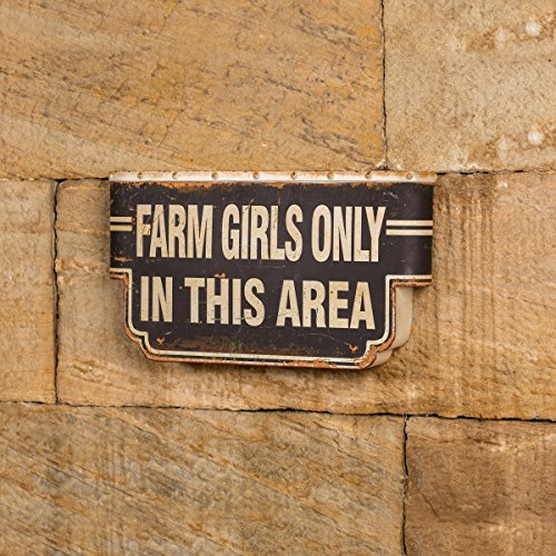FARM GIRLS ONLY METAL SIGN Review