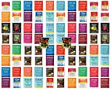 Herbal Tea Sampler with Individual Tea Bags Bigelow, Stash, Bromley  Caffeine-Free, Peppermint, Mint, Licorice, Chai, Cranberry Apple, Cinnamon Stick, Red Velvet and More (80 Count)