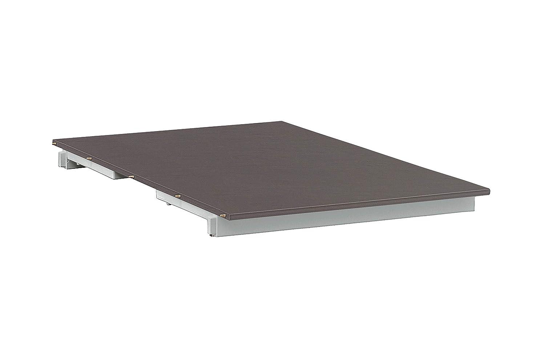 Kettler Kettalux-Plus Einlegeplatte mit Schieferoptik, Silber/anthrazit, ca. 60cm, 0301812-0500