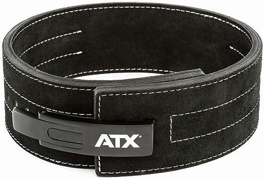 Gr/ö/ße S schwarz Gewichtheberg/ürtel Powerlifting XXL Veloursleder ATX/® Power Belt