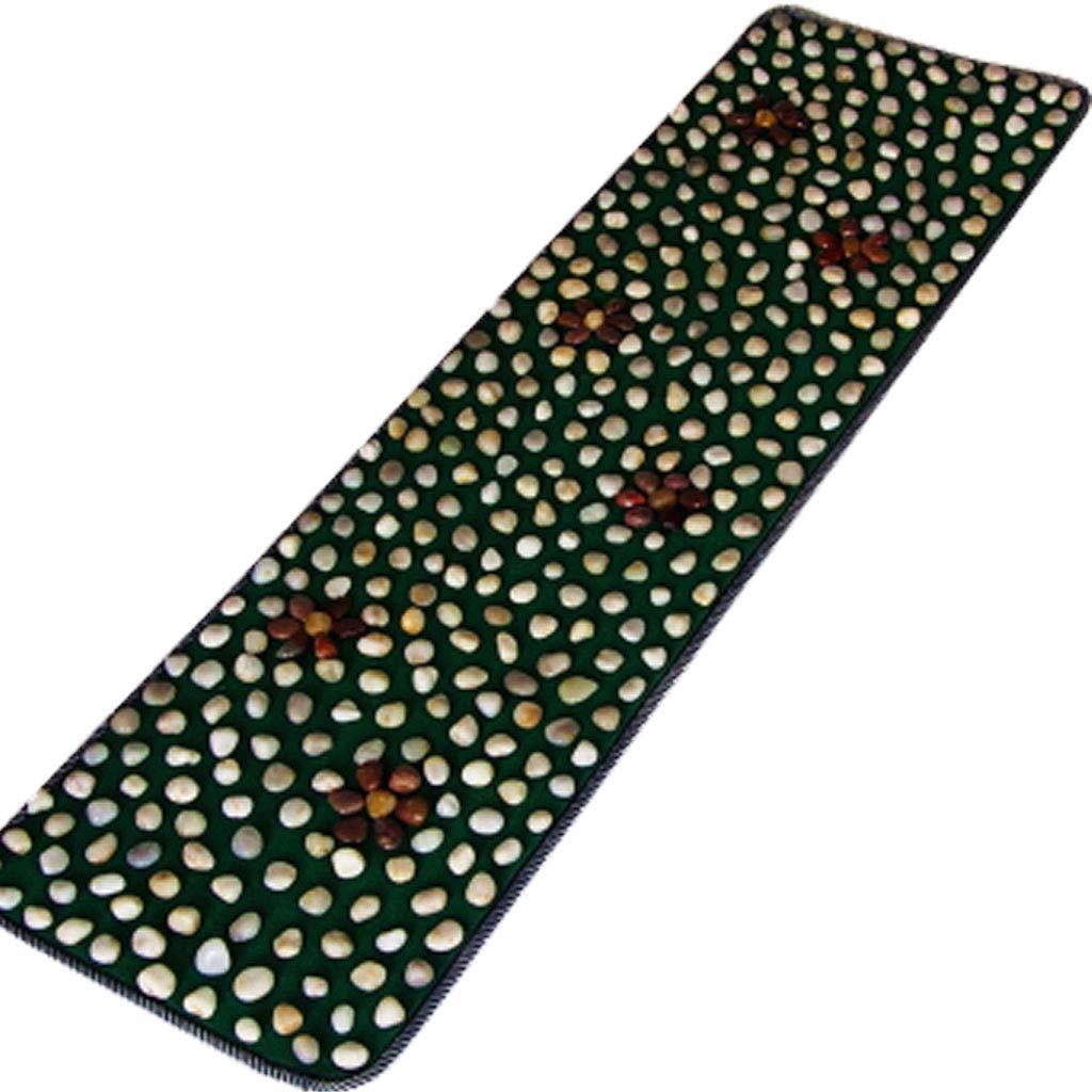 石畳の足のマッサージマット、足のマッサージの石の毛布 - ホームマッサージパッドフィットネス毛布 - 150x40cm B07QPMG3JM 4  4