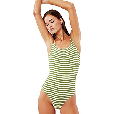 370ab78238 Solid & Striped Women's The Nina One Piece at Amazon Women's ...