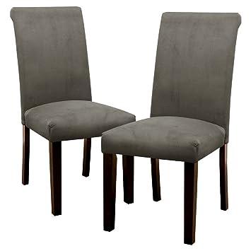 Amazon.com: Skyline silla de comedor: Avington terciopelo ...