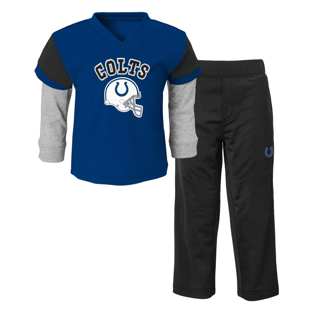 NFL Indianapolis Colts Infant / Toddlerジャージースタイルパンツセット 4T  B01L0GPTCG