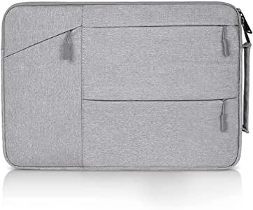 Soyan 15-Inch Laptop Briefcase Compatible with MacBook Air/Pro 15 Inches (Gray)