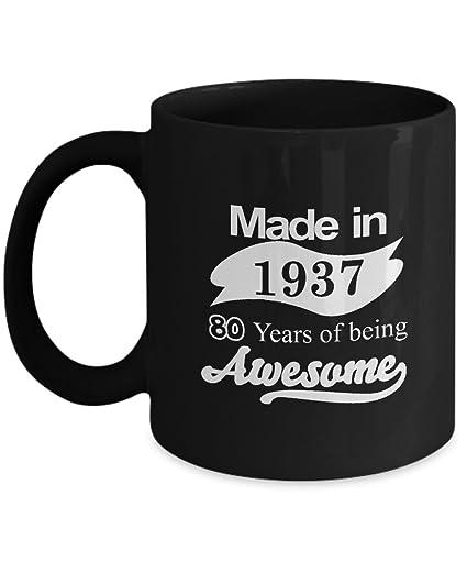 Amazon 80th Birthday Mug
