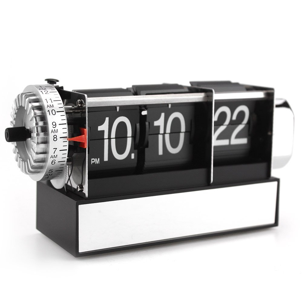 Futuristic Clock Amazoncom Kabb Modern Digital Mechanical Retro Flip Dd 3 4 Wn Clock