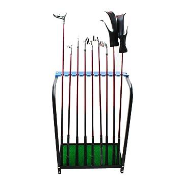 Kofull - Organizadores de palos de golf, de metal ...