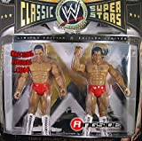 WWE Wrestling Classic Superstars Limited Edition Action Figure 2-Pack Tony Atlas and Rocky Johnson