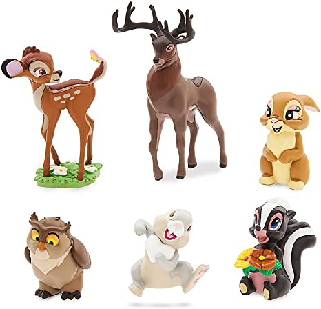 Amazon Com Disney Bambi Figure Play Set Toys Games