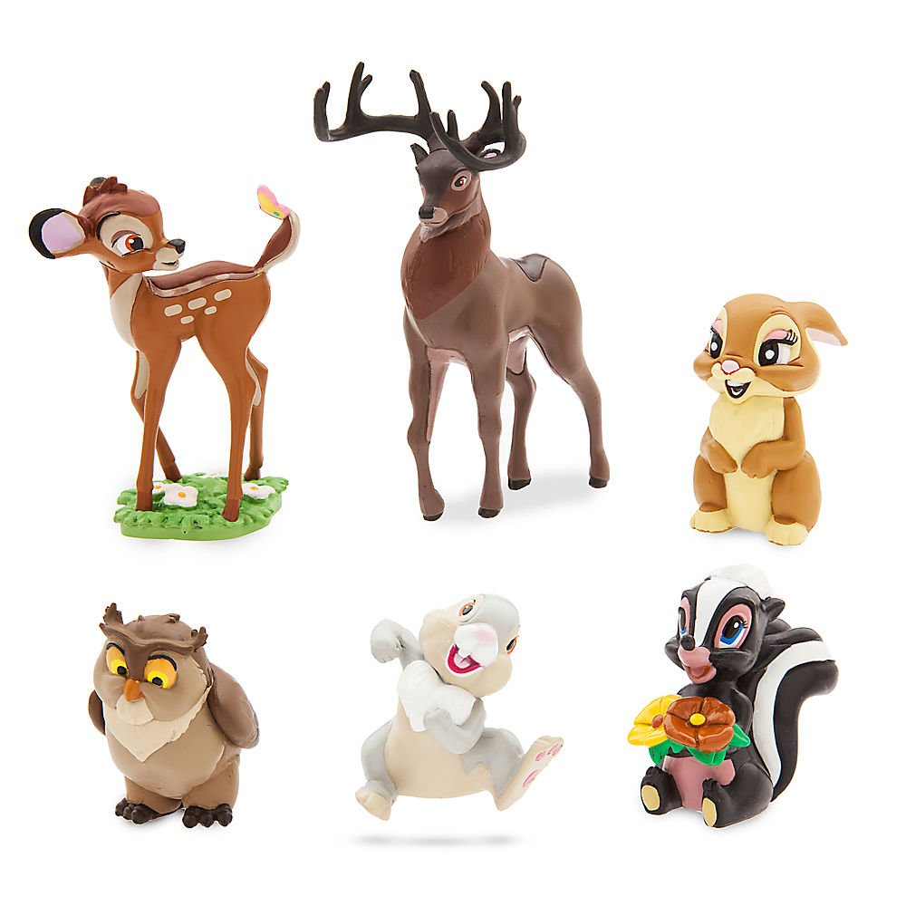 Disney Bambi Figure Play Set 461072456117