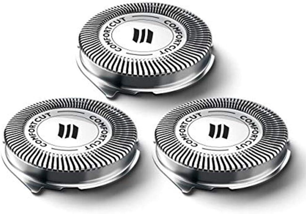 Somedays Cuchillas de Repuesto para Cabezales de Afeitado para Philips Norelco Cuchillas Cabezal de Afeitar Philips Malla 3000 Series 1000 7000 Razor SH30 / 52