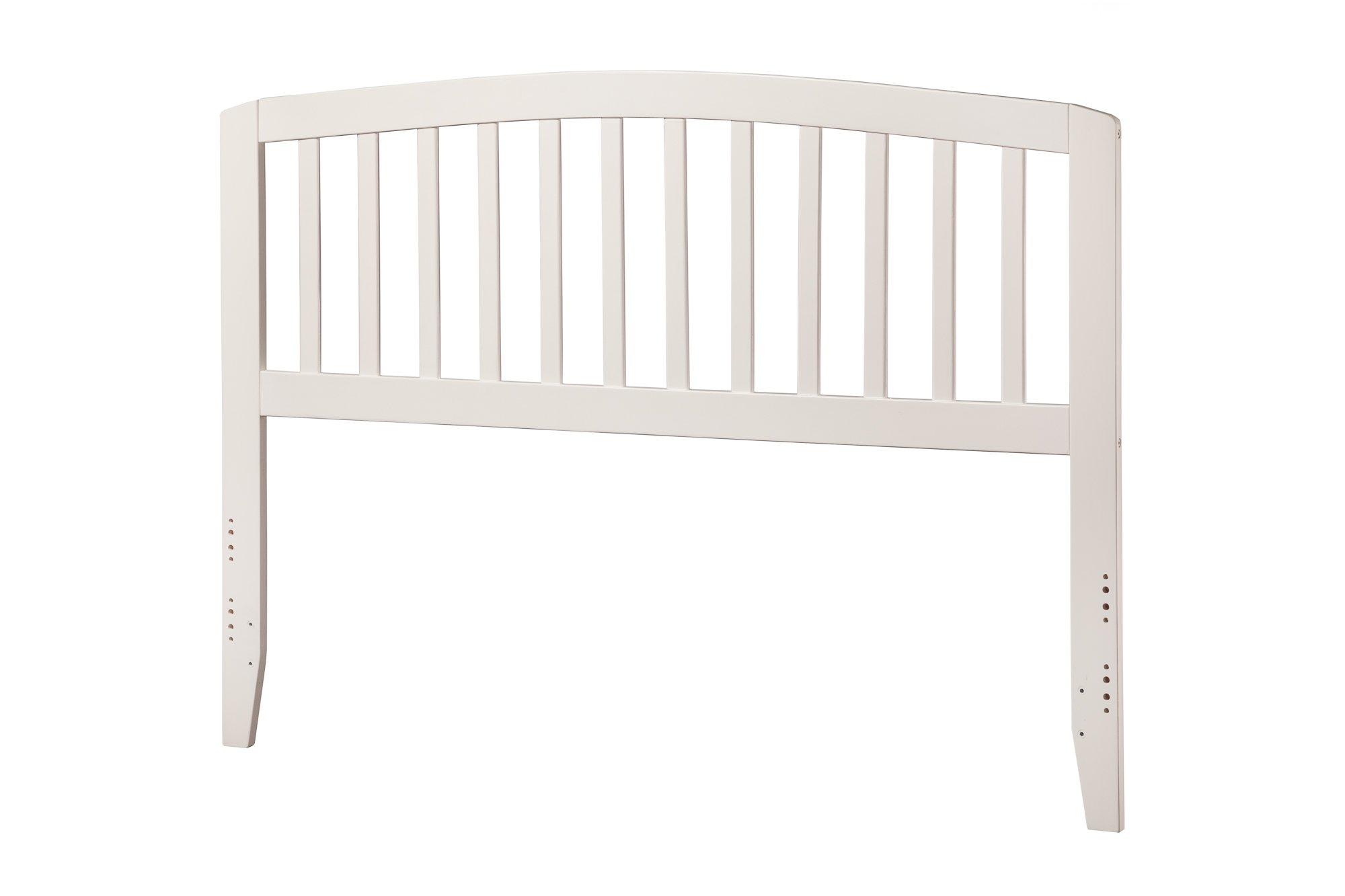 Atlantic Furniture Richmond Headboard, Full, White