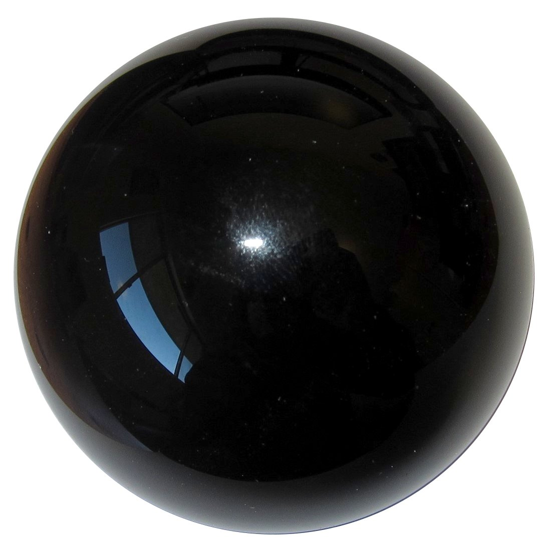 Satin Crystals Obsidian Black Ball Premium Protective Stone Volcanic Glass Grounding Healing Sphere P01 (4.3 Inches) by SatinCrystals