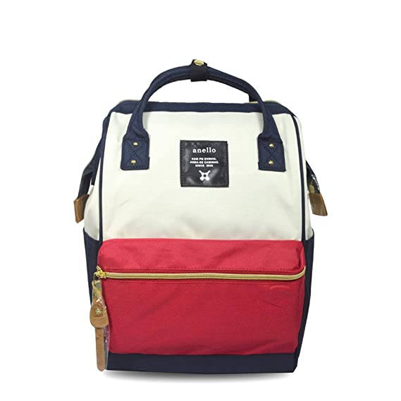 e79a548163f7 Japan Anello Backpack Unisex MINI SMALL MIX-F Rucksack Waterproof Canvas  Campus Bag  Amazon.co.uk  Clothing