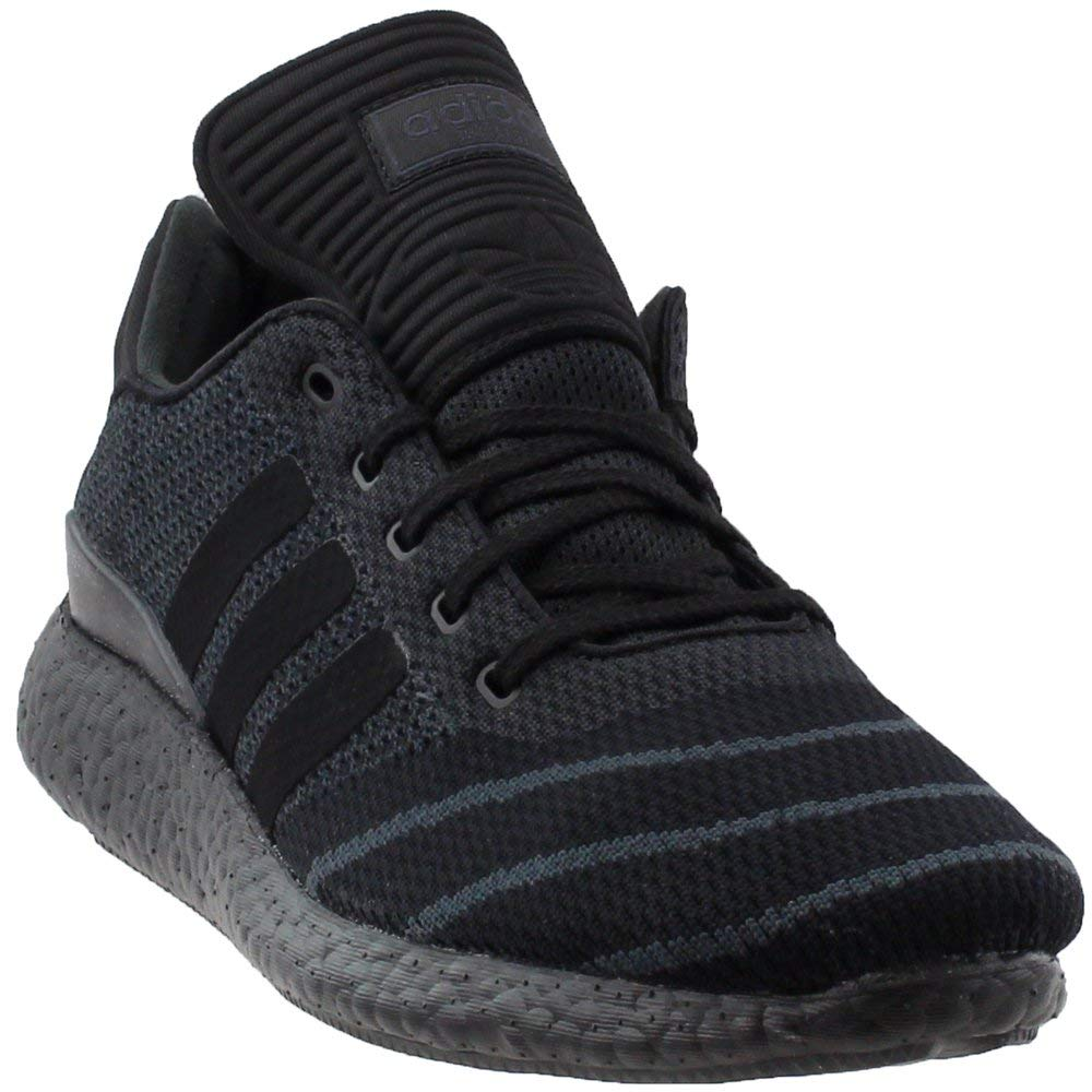 [ADIDAS - アディダス] BUSENITZ PURE BOOST PK 'TRIPLE BLACK' - BY4091 (メンズ) B06Y1NCS7H   9.5