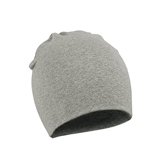 f41fc011a6f Amazon.com  Durio Unisex Cute Baby Caps Soft Warm Infant Tollder Hats  Lovely Beanies for Baby Boys Girls Hat D Light Grey Large (1-4 Years)   Clothing