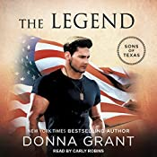 The Legend: Sons of Texas Series, Book 3 | Donna Grant