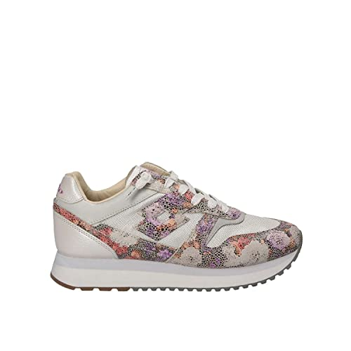 Fiori Slice W Sneakers Lotto T4614 Amazon Flowers Argento it nXqvnwx6TW