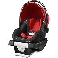 Evenflo Gold SensorSafe SecureMax Smart Infant Car Seat, Garnet (30412336)