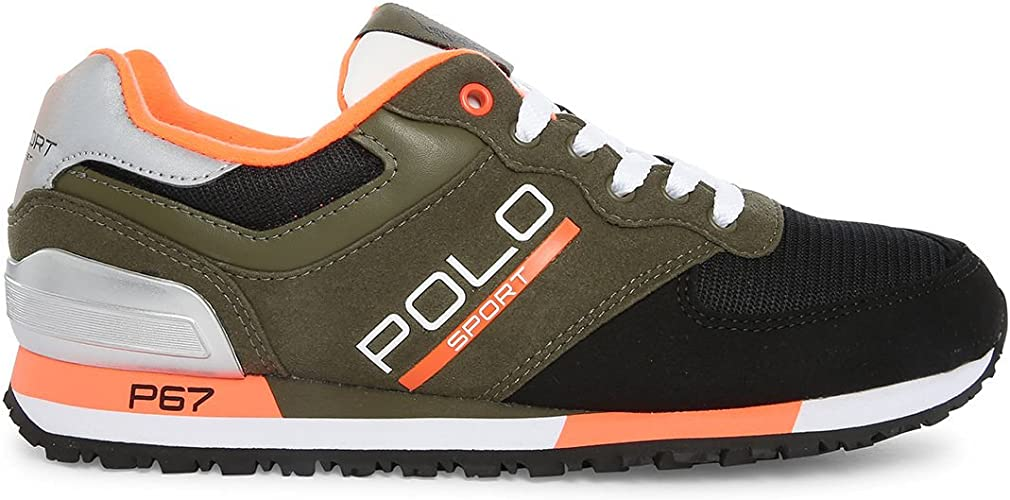Polo Ralph Lauren - Zapatillas para Hombre Verde Verde Verde ...