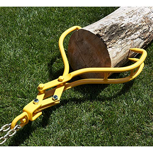 Roughneck 3-Claw Swivel Skidding Tongs — 28in. Dia. Jaw Opening