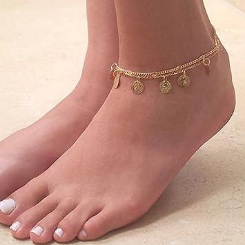 bracelet de cheville quel pied