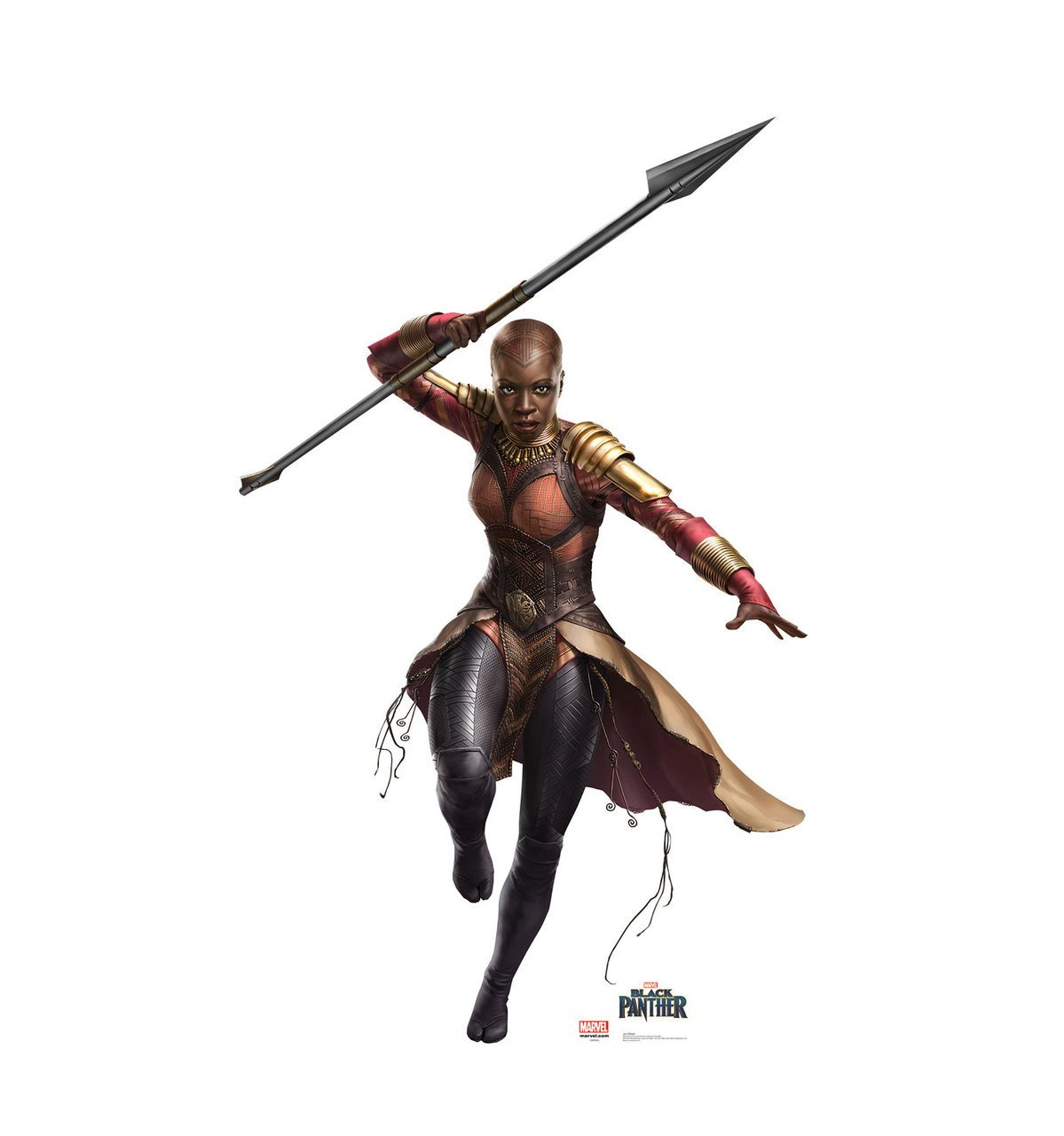 Okoye - Black Panther (2018 Film) - Advanced Graphics Life Size Cardboard Cutout Standup