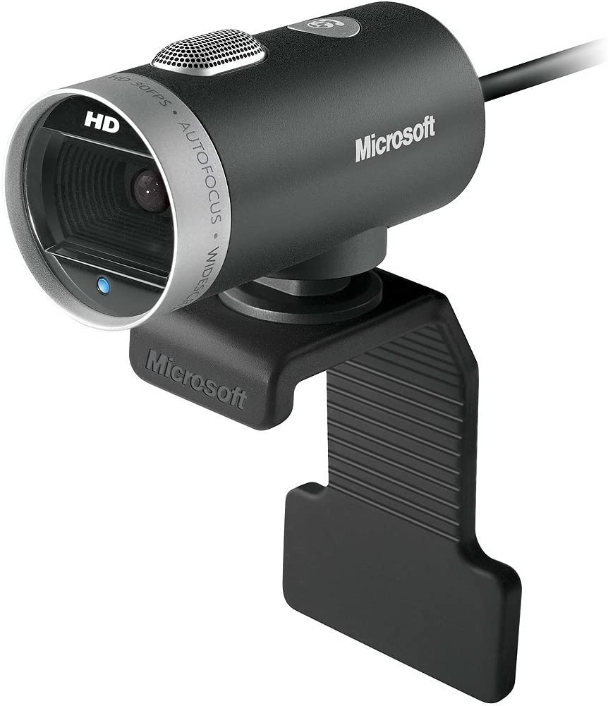 Microsoft LifeCam Cinema 720p HD Webcam for Business - Black