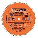 CMT P10080 5/8' Bore ITK Melamine & Ultra Finish Saw Blade, 10' x 80 Teeth