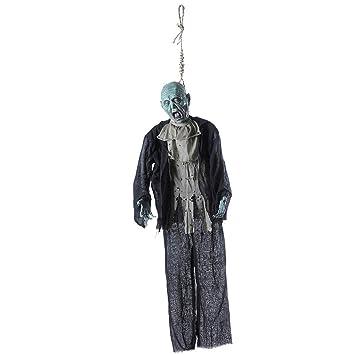 schreiender Zombie Hängedekoration Halloween 50 cm Deko Party