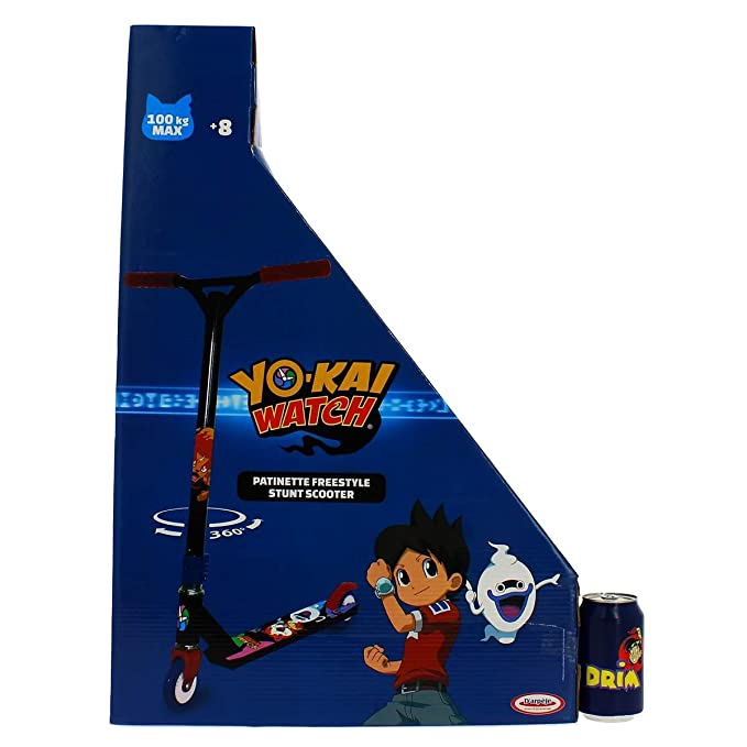 Yo-kai Watch - Patinete freestyle (Darpeje OYKW079) scooter: Amazon.es: Juguetes y juegos