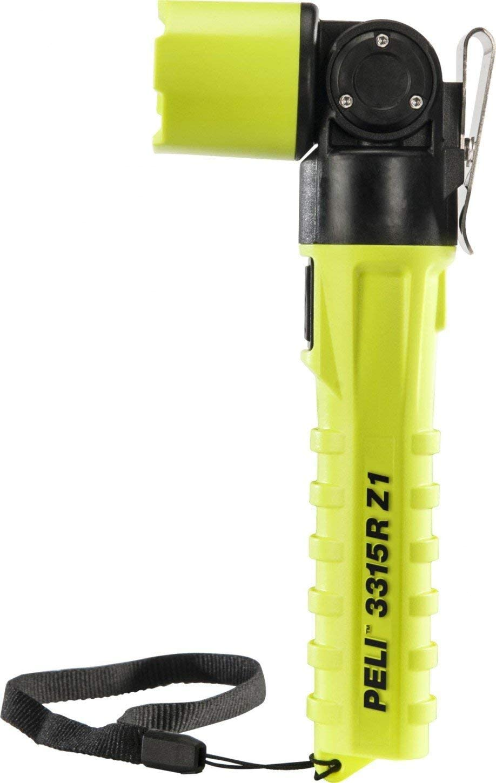 Jaune Peli 3315RZ1-RA Torche angle droit