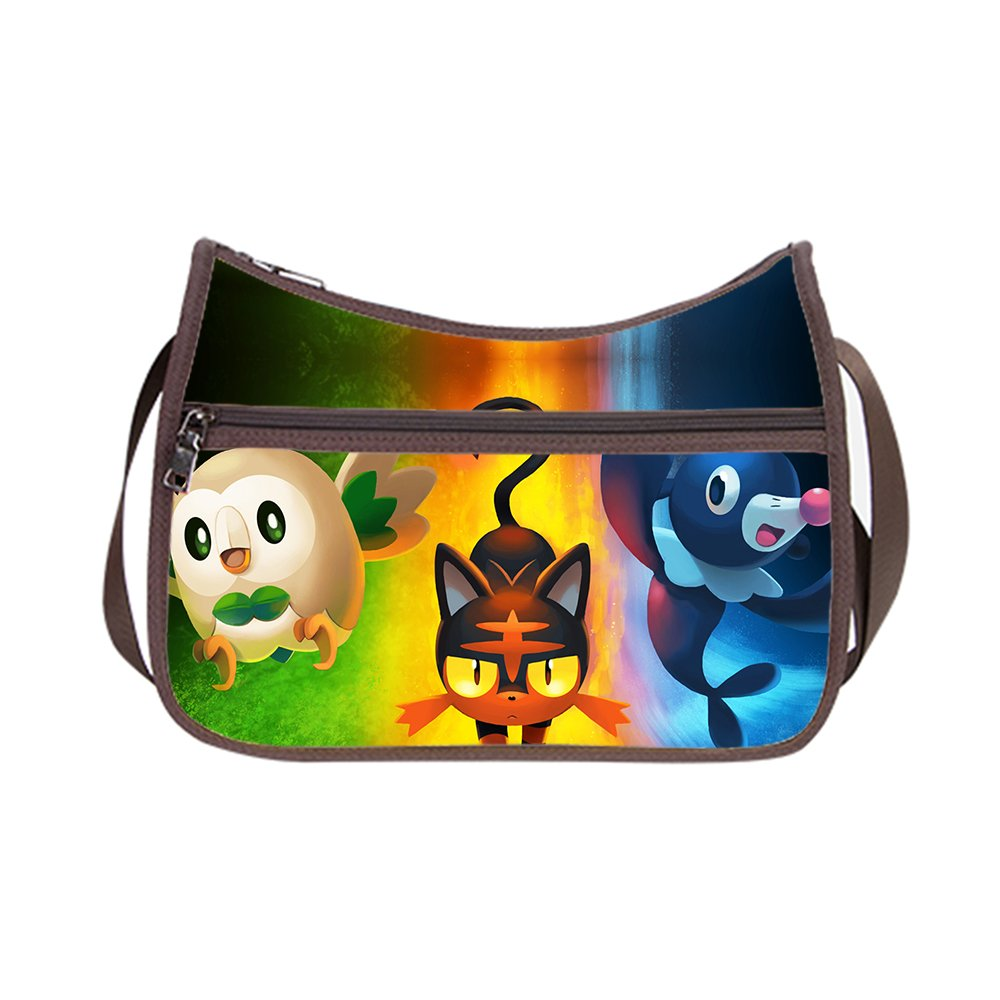 Amazon.com: PengPeng Custom Pokemon Pets Body Handbags ...