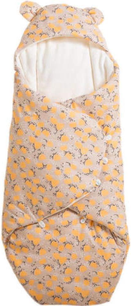 El saco de dormir para bebé 100% algodón orgánico está disponible todo el año. Manta multifuncional suave cálida linda recién nacida Swaddle: Amazon.es: Bebé