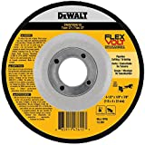 "DEWALT DWAFV84518 FLEXVOLT T27 Cutting/Grinding Wheel, 4-1/2"" x 1/8"" x 7/8"""