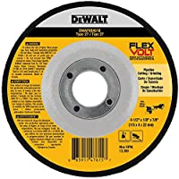 DEWALT DWAFV84518 FLEXVOLT T27 Cutting/Grinding Wheel, 4-1/2 x 1/8 x 7/8