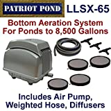Patriot Bottom Aeration System LLSX-65, For Ponds to 6,500 Gallons And Pond Depths To 19 Feet