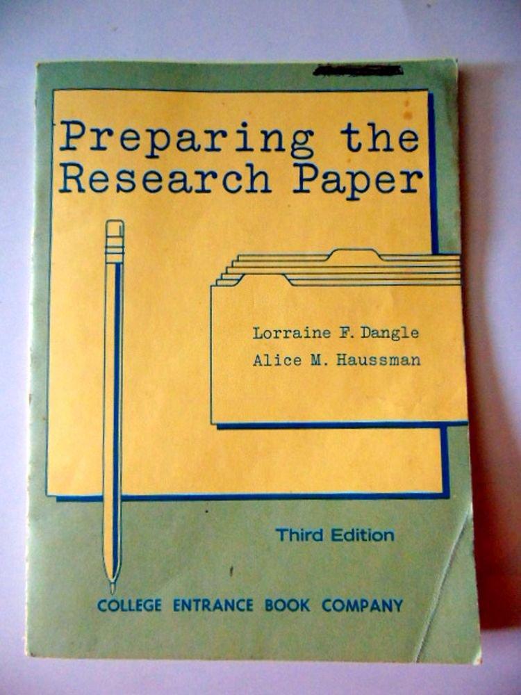 preparing research paper