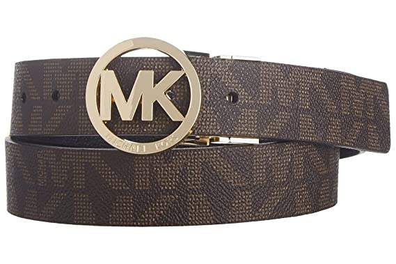 c2eabb01ecc1 ... spain michael michael kors belt with mk logo plaque f472a 852b8