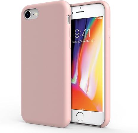 cover iphone 8 rosa sabbia