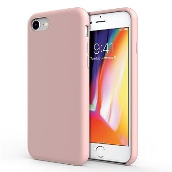 coque iphone 7 rose sable