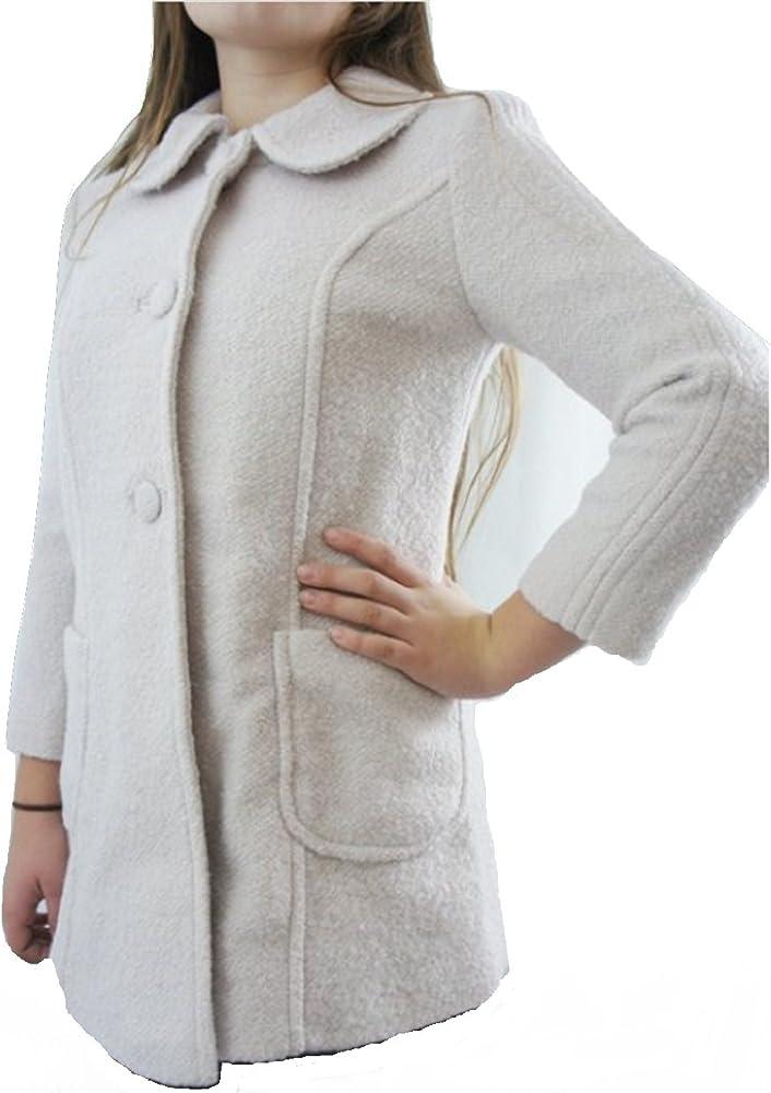 chaqueta de lana rosa mujer