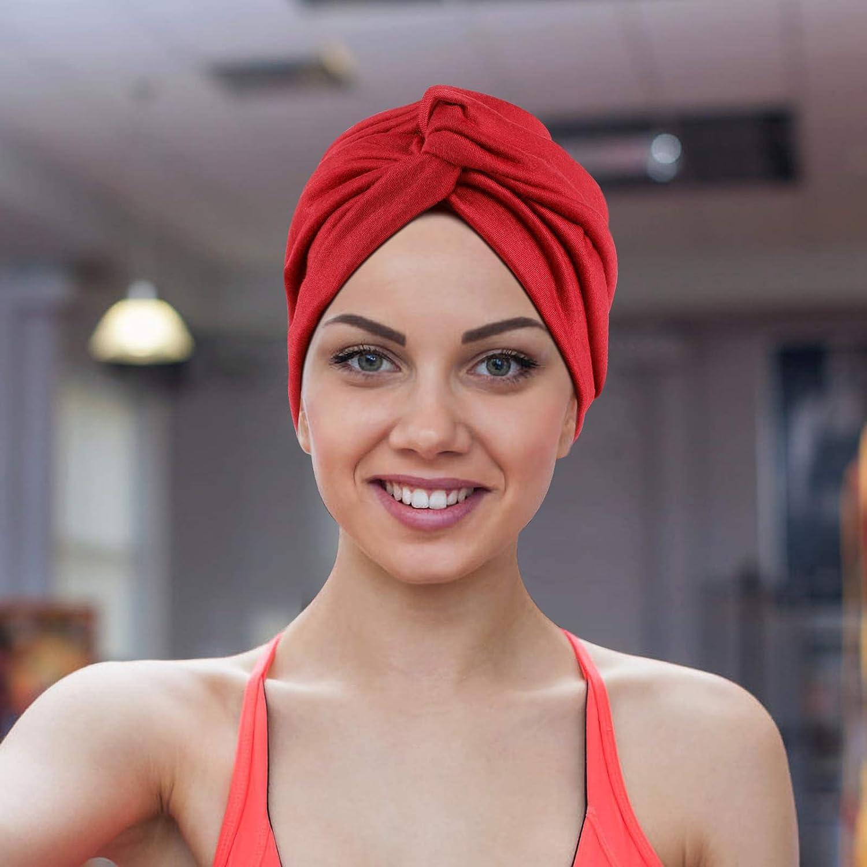 Donna 6 Pezzi Turbante Chemioterapia,Turbante Donna ...