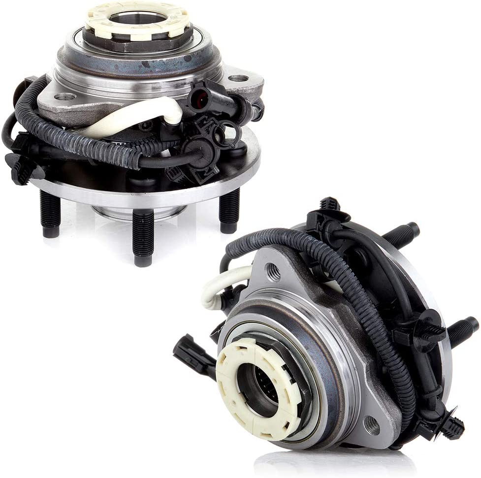 HUBDEPOT Front Wheel Hub and Bearing Assembly Replacement for Mazda B4000, Ford Ranger 4x4 5 Lug Pulse Vacuum Lock Hub W/ABS [Auto Locking Hubs]