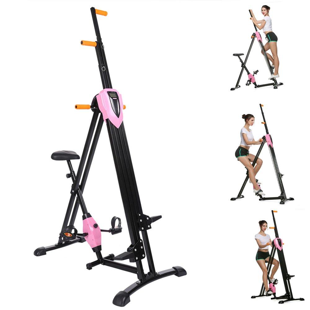 Mymotto Vertical Gym Climber Fitnessgerät Klappbar höhenverstellbar Sportgerät für Heimtraining, Arm- und Beintrainer